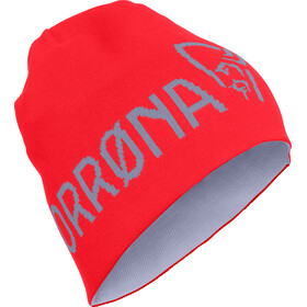 Norrøna /29 Thin Logo Beanie crimson kick